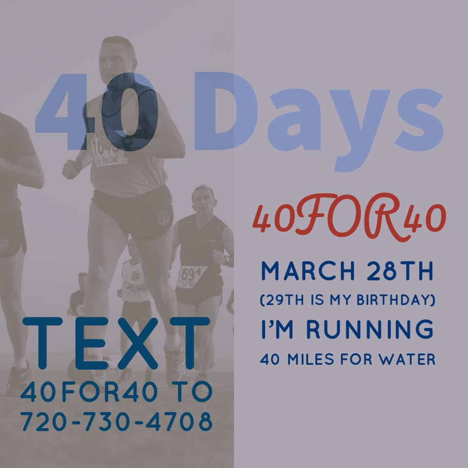 40for40 safe water run
